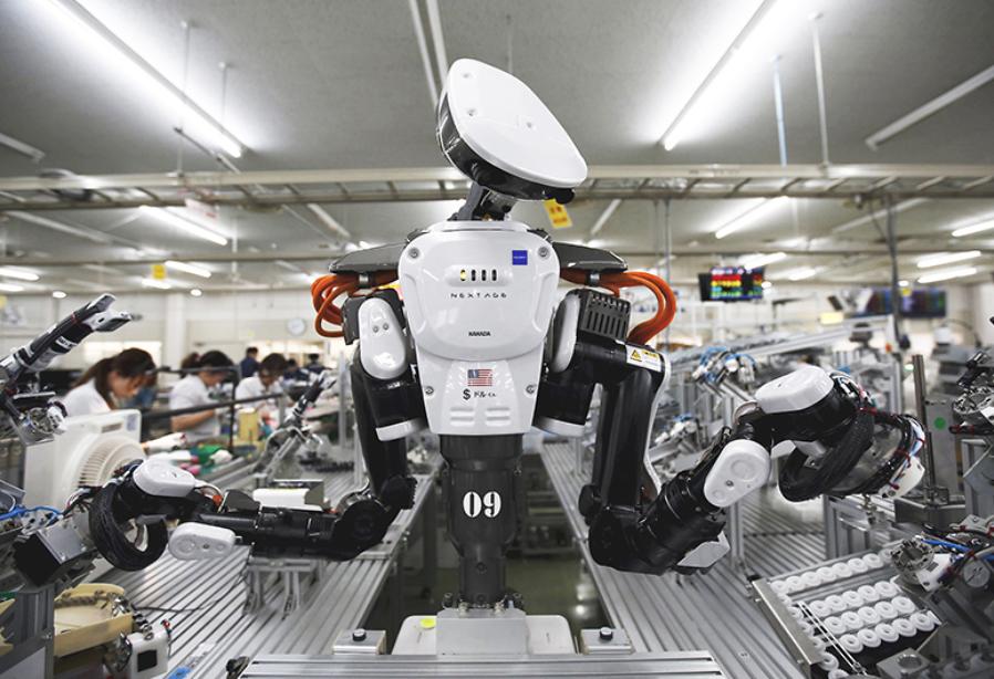 máy móc thay thế lao động thủ công