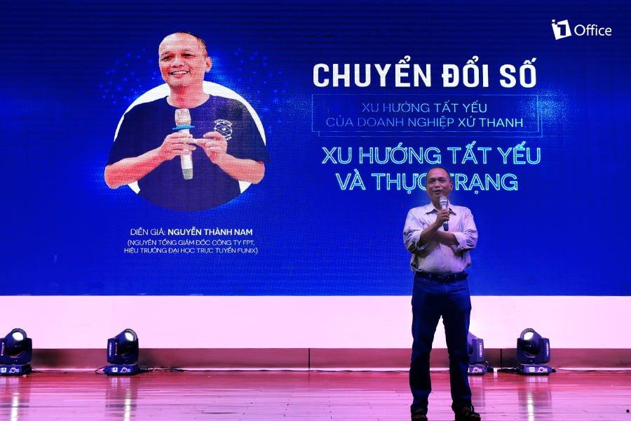 """Diễn giả Nguyễn Thành Nam hé lộ """"Xu hướng và thực trạng Chuyển đổi số doanh nghiệp"""""""