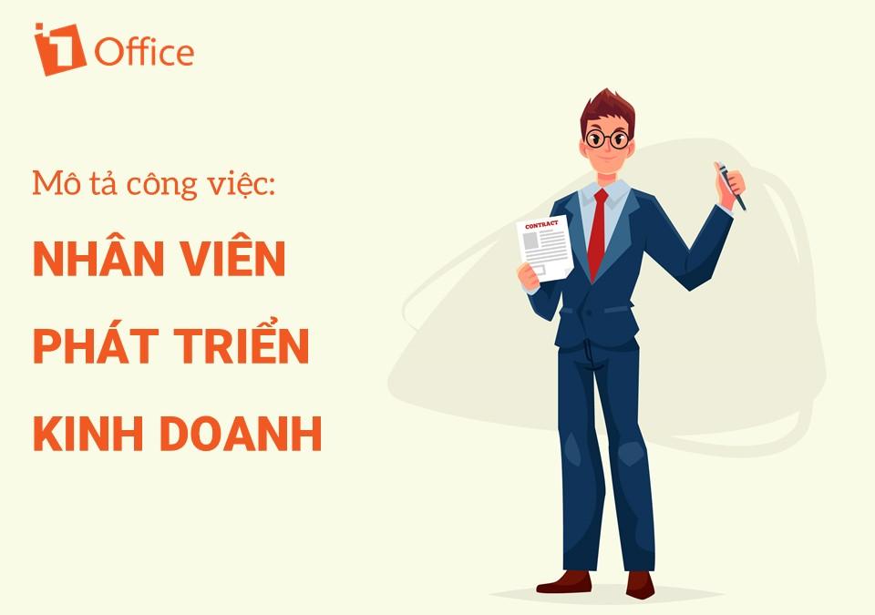 mẫu mô tả công việc nhân viên phát triển kinh doanh