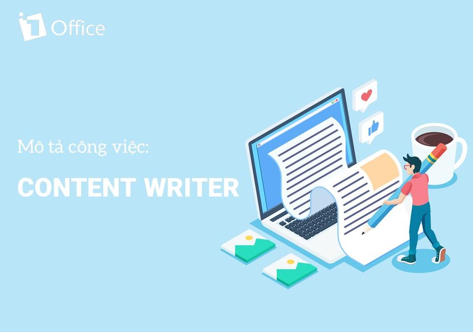 Mẫu mô tả công việc Content Writer trong doanh nghiệp