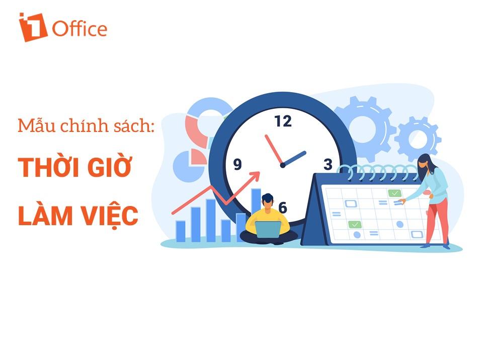 Mẫu quy định thời gian làm việc trong doanh nghiệp