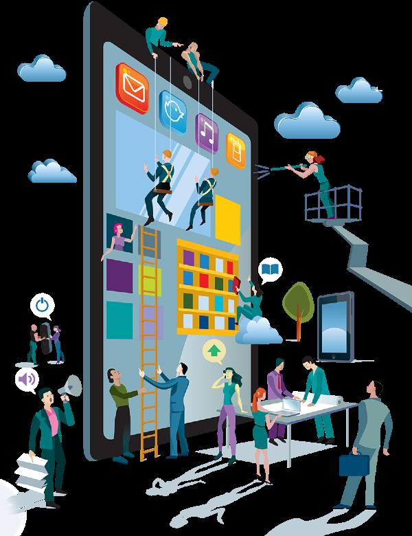 Chuyển đổi số trong ngành IT là áp dụng công nghệ toàn diện cho tổ chức