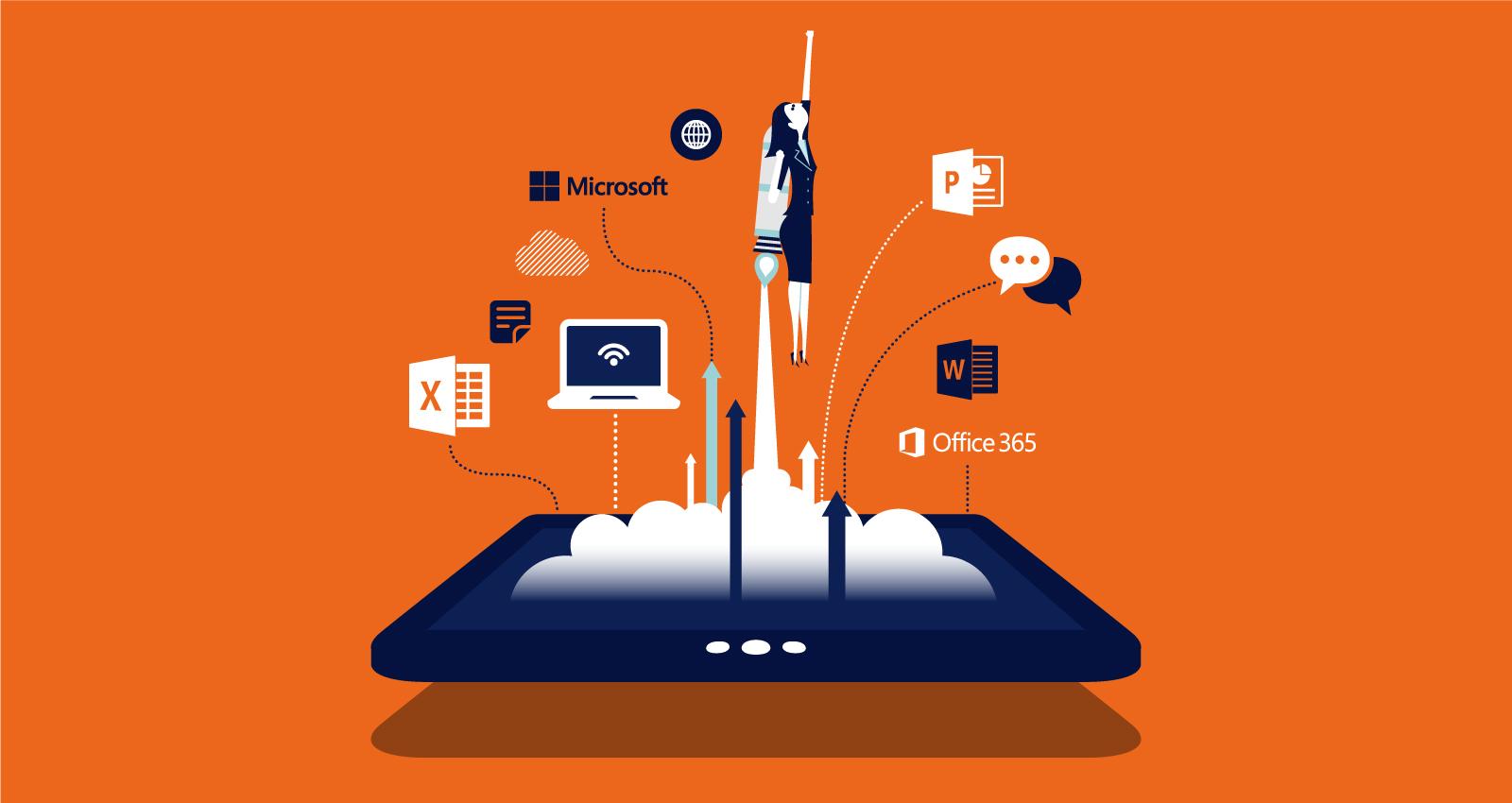 Microsoft 365 - Bộ công cụ quản lý công việc truyền thống cơ bản