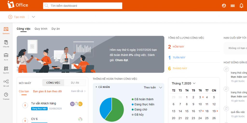 Phần mềm quản lý 1Office