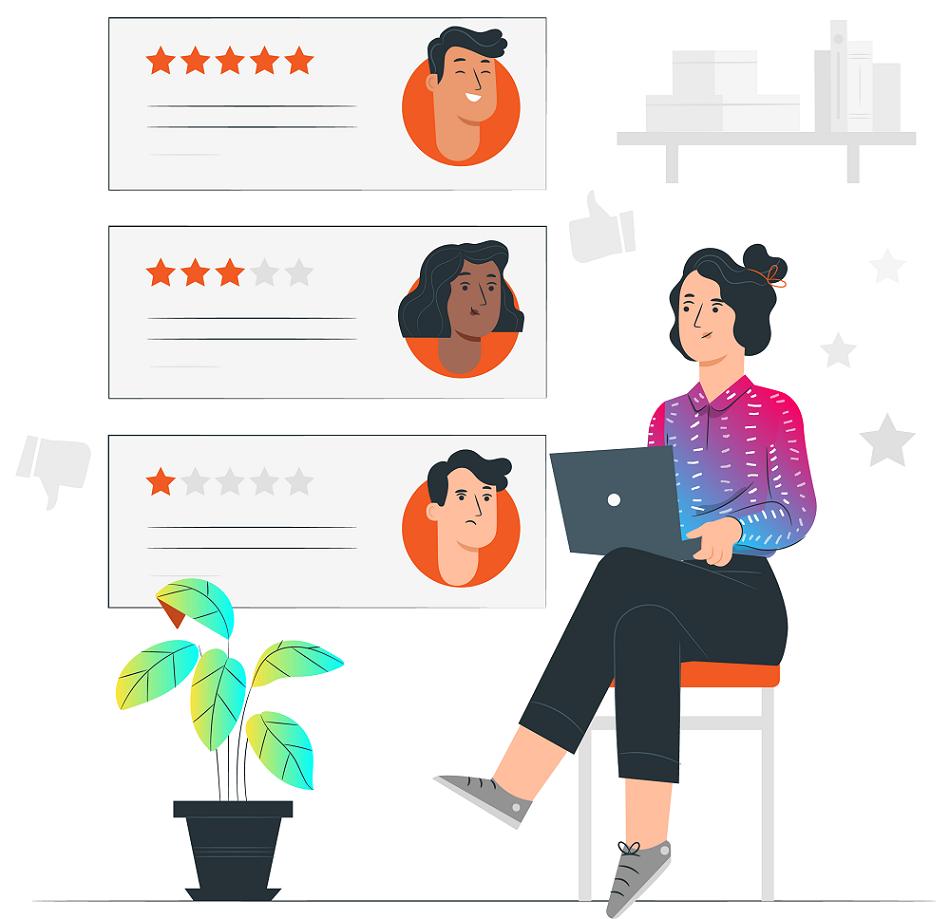nhà quản lý có thể đánh giá nhân viên một cách trực quan dựa trên khung năng lực ASK