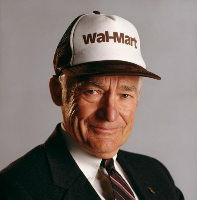 Là một vị tỷ phú nhưng Sam Walton là một người biết trân trọng giá trị của sự lao động