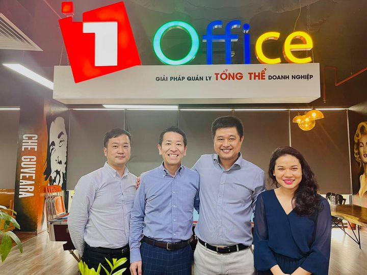 Navigos Group đến thăm và thỏa thuận hợp tác với 1Office