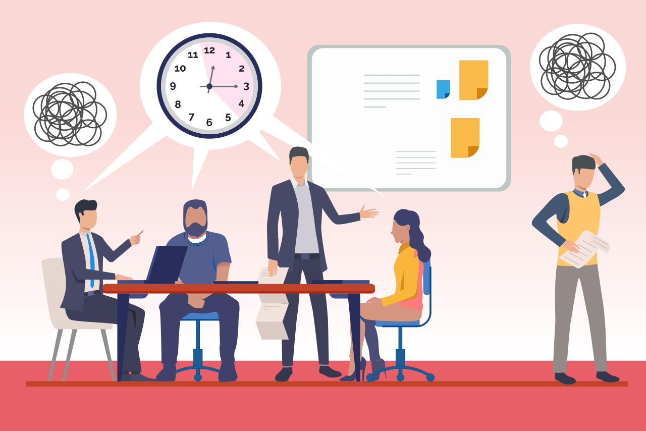 Quản lý thời gian: loại bỏ các cuộc họp kém hiệu quả