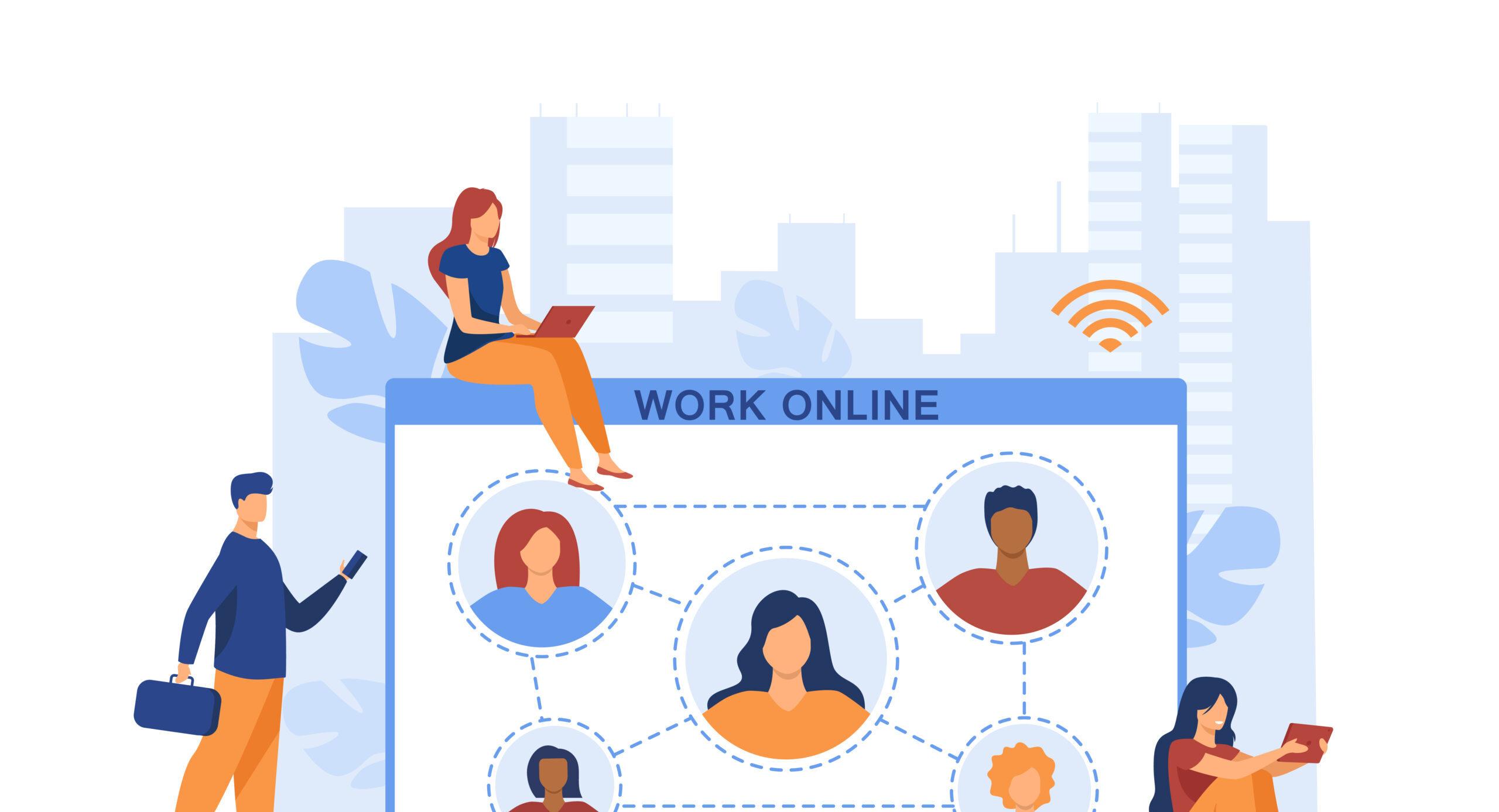 Làm việc từ xa: những khó khăn đặt ra và giải pháp cho doanh nghiệp