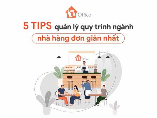 5 tips quản lý quy trình ngành nhà hàng đơn giản nhất
