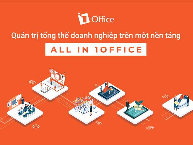 1Office - Nền tảng quản lý quy trình ngành du lịch tổng thể