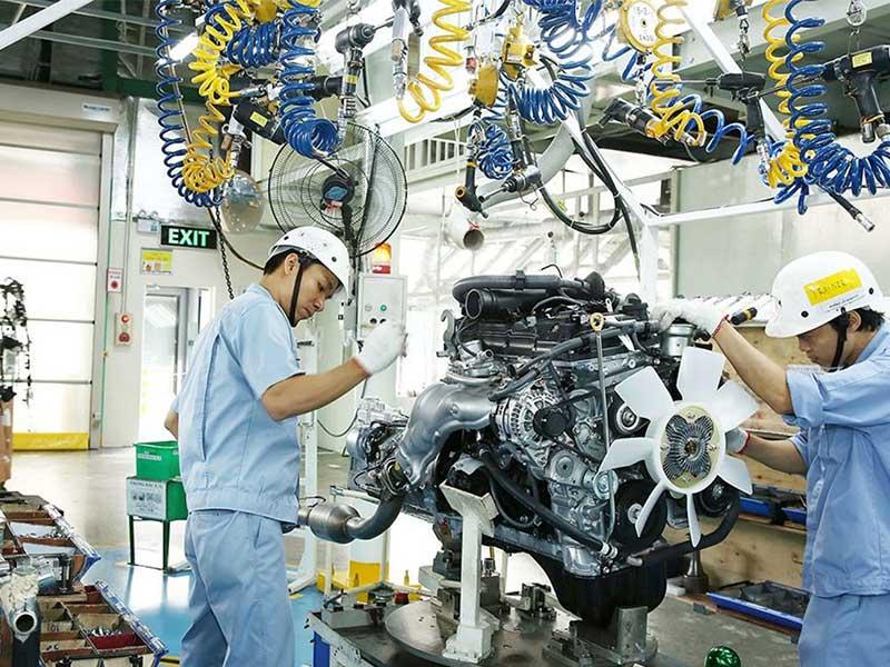 Chi tiết về ngành sản xuất