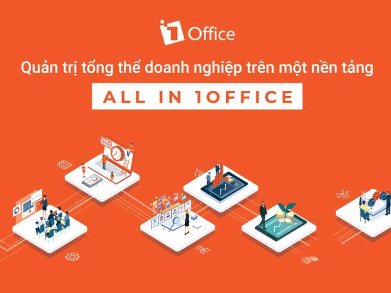 Nền tảng quản trị trung tâm ngoại ngữ tổng thể 1Office