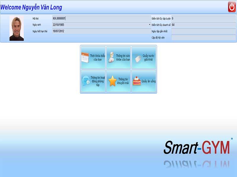 Phần mềm Smart Gym