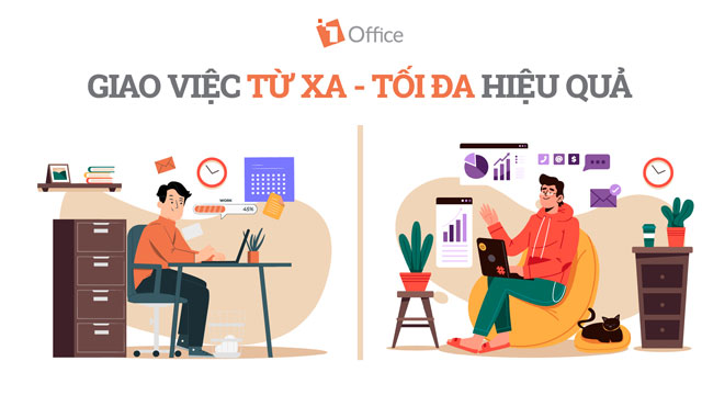 Work From Home: Giao việc từ xa – Tối đa hiệu quả