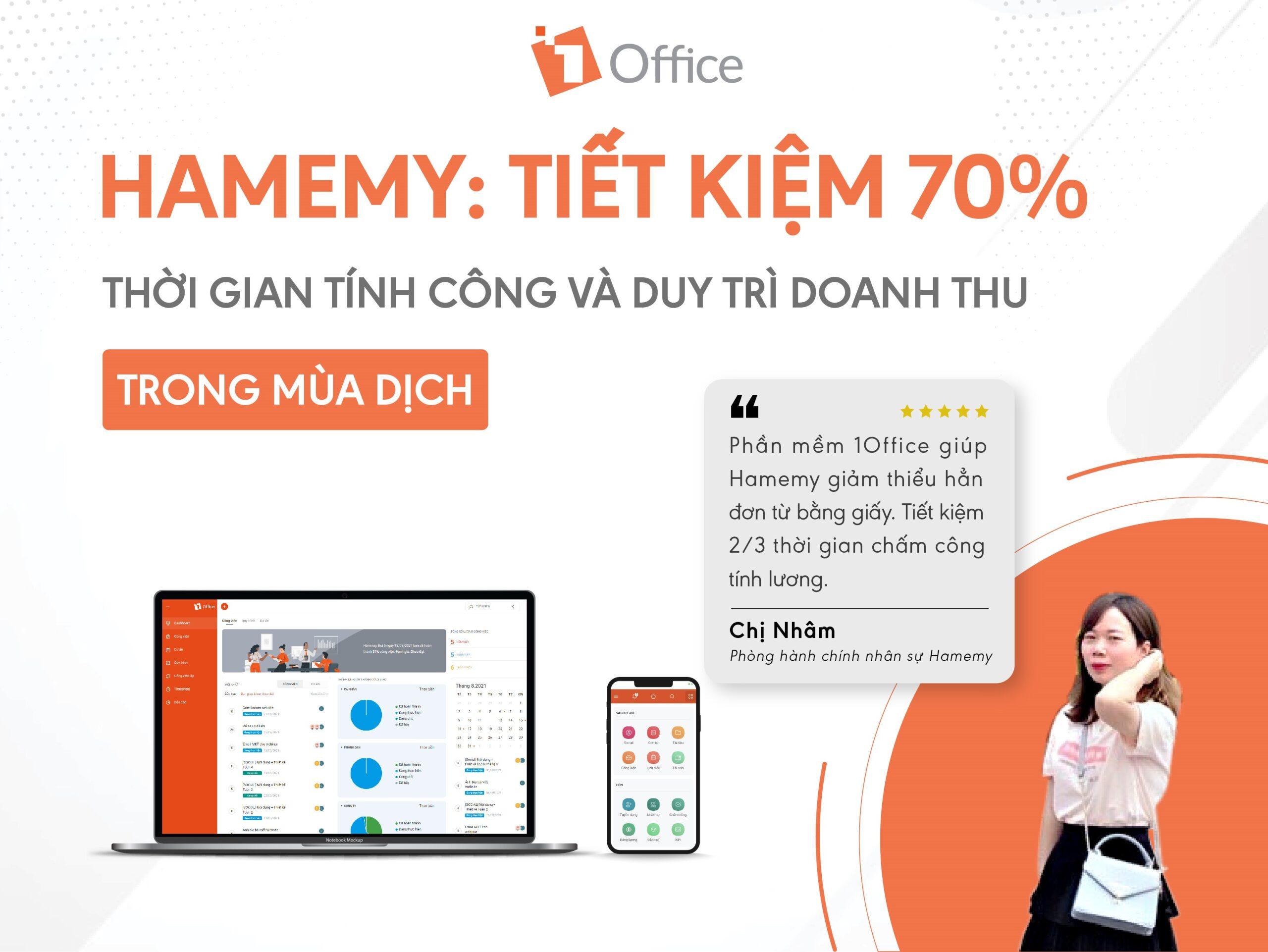 Hamemy: Tiết kiệm 70% thời gian tính công và duy trì doanh thu trong mùa dịch