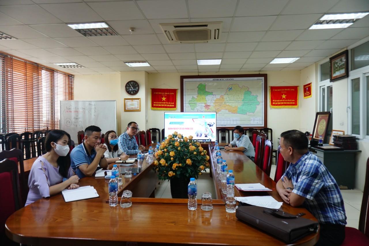 1Office phối hợp cùng BECA hỗ trợ quá trình chuyển đổi số cho cộng đồng DN tỉnh Bắc Giang