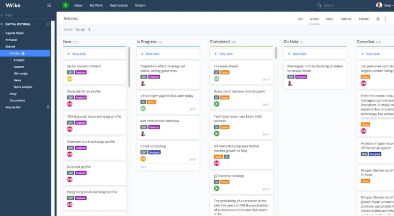Phần mềm quản lý dự án dễ dàng