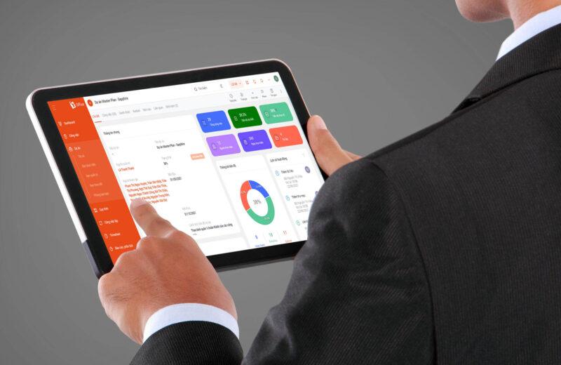 hệ thống quản lý doanh nghiệp tự động