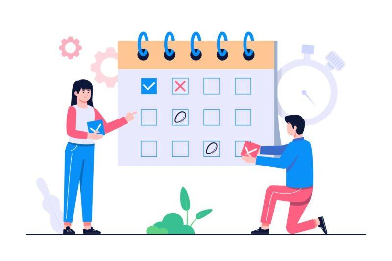 Cách lập kế hoạch làm việc với phần mềm lập kế hoạch công việc 1Office