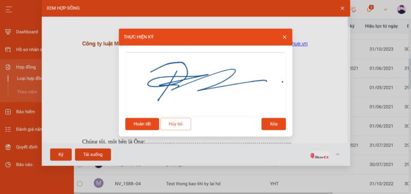 phần mềm chữ ký số dễ dàng