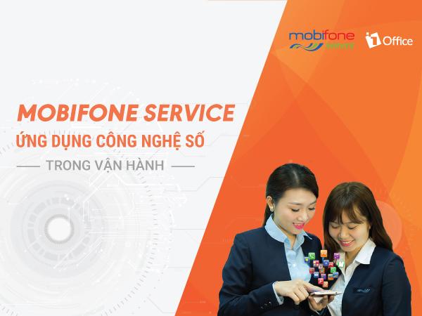 Mobifone Service tích hợp công nghệ số trong thời đại 4.0