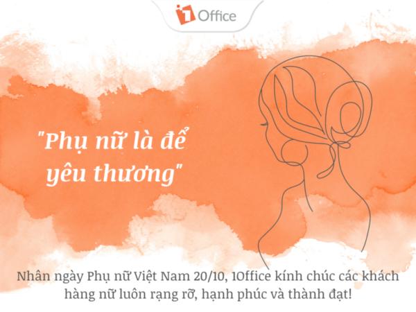 1Office chúc mừng ngày phụ nữ Việt Nam 20/10